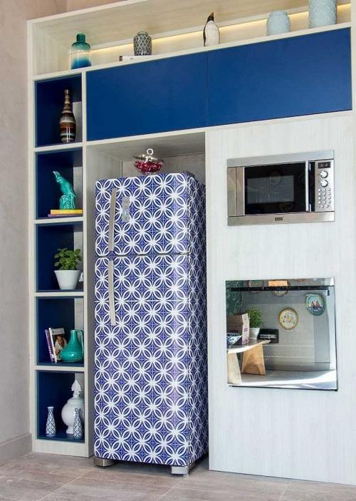 Что можно поставить на холодильник для красоты. Все самое интересное о декоре холодильника
