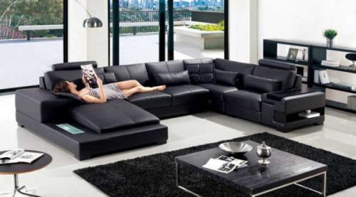 Что такое угловой диван. Форма и направление угла, П-образные диваны