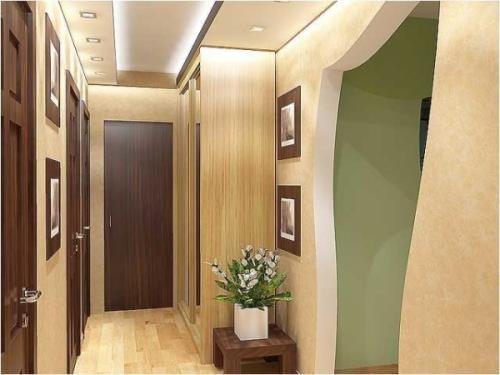 Как расширить визуально узкий длинный коридор. Как визуально расширить пространство узкого коридора