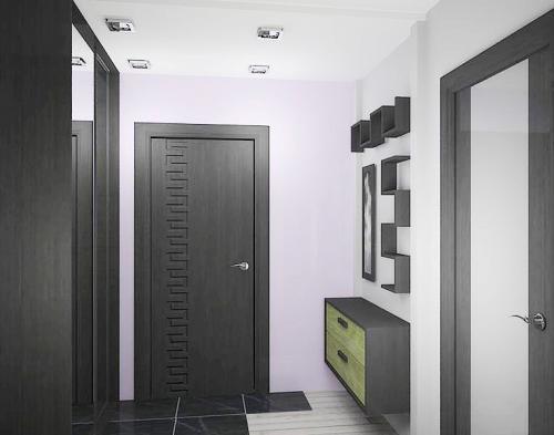 Дизайн узкого коридора в панельном доме. Делаем прихожую больше
