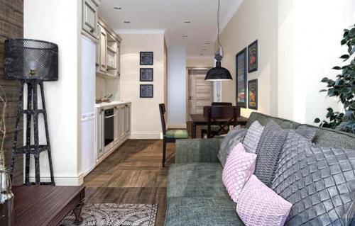 Как выбрать планировку двухкомнатной квартиры. Особенности планировки двухкомнатных помещений