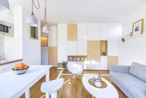 Дизайн в однокомнатной квартире. Дизайн однокомнатной квартиры 30 кв. м
