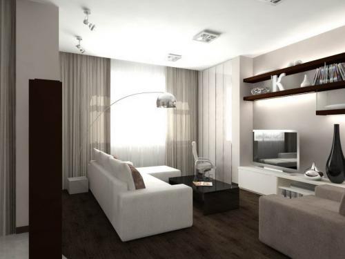 Дизайн штор для гостиной в современном стиле. Штора, как элемент дизайна помещения