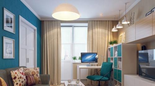 Гостиная комната с выделением зон. Гостиная с рабочим местом: тонкости зонирования помещения