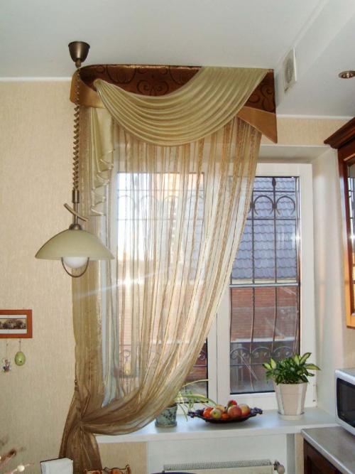 Как красиво оформить шторы. Виды