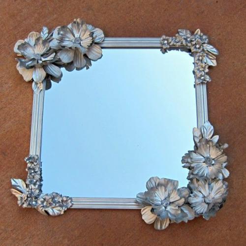 Рамка для зеркала своими руками. Изготовление и украшение рамки для зеркала своими руками, простые идеи