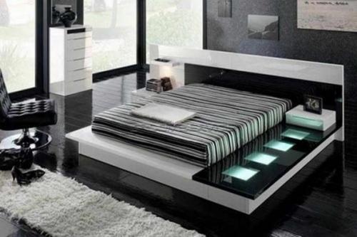 Шкаф в стиле хай тек. Мебель для спальной комнаты в стиле high-tech