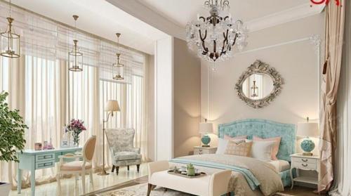 Мебель для спальни светлая. Светлая спальня