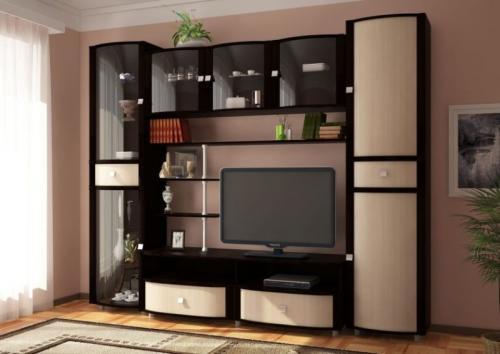 Мебель для гостиной комнаты мебель для гостиной комнаты. Комплектация модульных гостиных