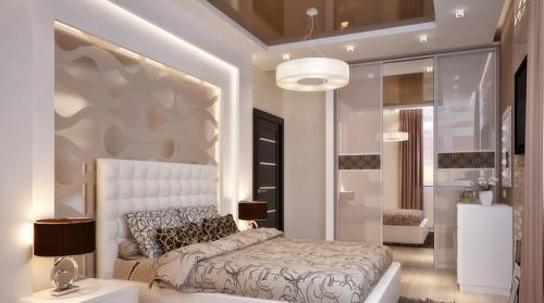 Мебель в спальню светлая. Дизайн маленькой светлой спальни