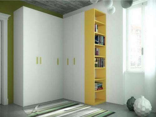 Шкаф встроенный угловой в спальню. Конфигурация угловых шкафов-купе в спальню