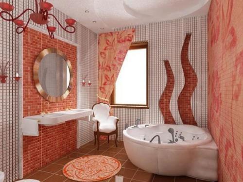 Какого цвета должна быть ванная комната по фен-шуй. Где должна находиться ванная комната: удачное расположение по фен-шуй