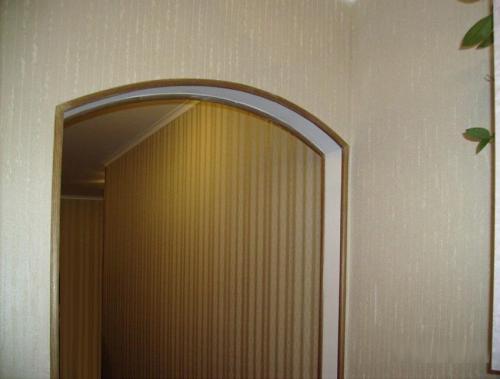 Чем отделать углы арки. Четкие линии и защиту от разрушения получаем благодаря окантовке