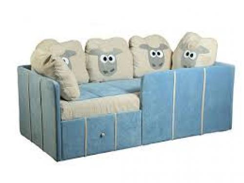 Диван детский. Виды детских диванов-кроватей