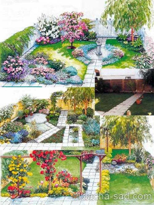 Ландшафтный дизайн маленького участка 1 сотка. Ландшафтный дизайн маленького садового участка — создаем сад мечты на 1 сотке
