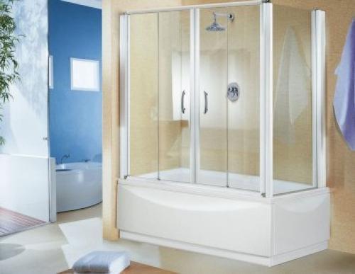Шторы раздвижные для ванной своими руками