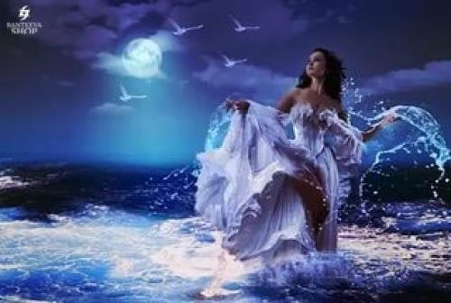 Ведьма Водяная. Ведьма воды.  Ведьм воды иногда называют морскими ведьмами, хотя многие из них связаны с удаленными от моря ручьями, реками и озерами.