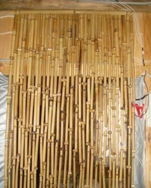 Сделать Деревянные шторы своими руками