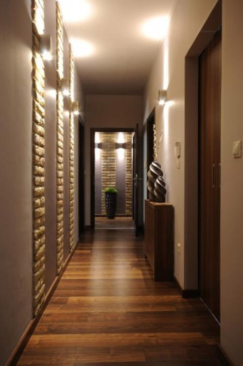 Узкий коридор, как визуально расширить. Узкий и длинный коридор - как визуально его увеличить?
