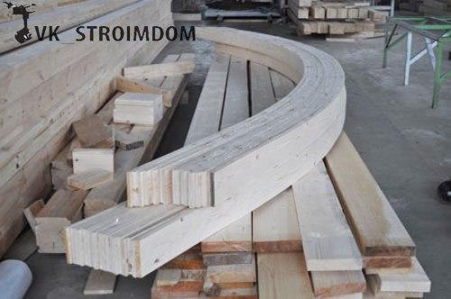 Деревянные арочные конструкции своими руками