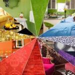 Выбор цвета для интерьера квартиры.