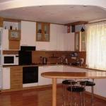 Интерьер кухни с барной стойкой: шик, доступный каждому.
