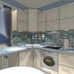 Дизайн маленькой кухни 6 кв.