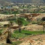 Пещеры троглодитов в Тунисе.