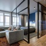Квартира - студия.  Оцените идею зонирования спального места от 1 до 10.
