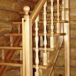 Чердачная лестница своими руками.
