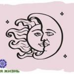 Лунный календарь на месяц.