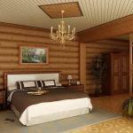 Выбор внутренней отделки дома в пользу древесины.