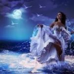 Ведьма воды.  Ведьм воды иногда называют морскими ведьмами, хотя многие из них связаны с удаленными от моря ручьями, реками и озерами.
