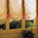 Как сшить шторы своими руками: шторы в венецианском стиле.