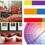 Соответствие цвета стилю мебели.