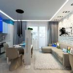 Два дизайн - концепта для квартиры 26-28 м.