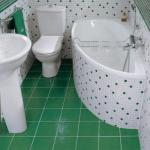Плитка для маленькой ванной комнаты - как выбрать.
