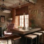 Преображение легендарной квартиры Кристины Орбакайте и Аллы Пугачевой в урбанистическом стиле от дизайнера Марины жеренко.
