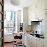 """22 способа """"Увеличить"""" пространство и изменить дизайн маленькой кухни."""