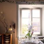 Романтика и богемность шведской квартиры.