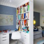 Проект детской комнаты для мальчика 17 кв.