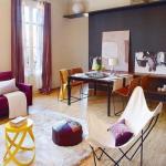 Современная и яркая семейная квартира в г. Барселона, 90 кв.