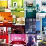Психология цвета в интерьере: