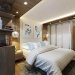 В вашей квартире маленькая спальня?
