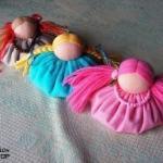 Кукла зерновушка?   Эта кукла имеет несколько названий: зернушка, зерновушка, крупеничка, горошинка.