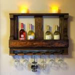 Вот такие полки для винных бутылок станут оригинальным украшением интерьера любой кухни или гостинной или крутым подарком на новоселье!