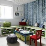Хранение игрушек: идеи для детской комнаты.