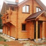 10 причин строить дом из оцилиндрованного бревна: