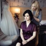 Свадебный образ для милой Дианы и вечерний образ для подружки Ирины стилист: Людмила турышева - Корнеева.