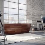 Деревянные ванны.  Деревянные ванны - это отличный выбор для интерьера мечты.